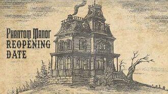 Phantom Manor Reopening Date