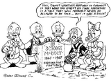 Hey, Daisy, Whatever Happened To Scrooge? (Don Rosa)