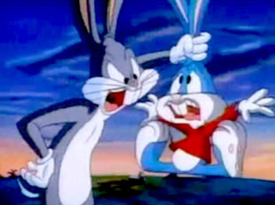 Buster Bunny from Tiny Toons