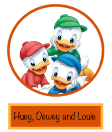 Huey, Dewey and Louie Duck