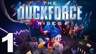 The Duckforce Rises - Gameplay Walkthrough Part 1 - Levels 1-6 (iOS)