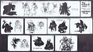 Black cauldron artwork andreas deja 01