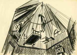 Rough Anderson Sketch of the Cupola