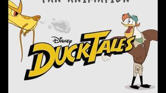 DuckTales Fan Animation - Launchpad McQuack