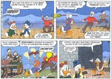 The New Laird of Castle McDuck panels
