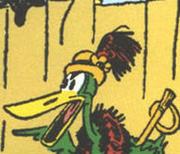 Gottfredson duck lady