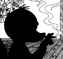 Huey Smoking