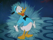 Donald Duck en dessin animé