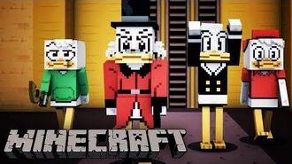 Minecraft - Official DuckTales Mash-Up Trailer