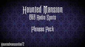 Phineas Pock - Haunted Mansion Radio Spot 1969