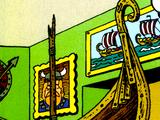Old Viking Ship