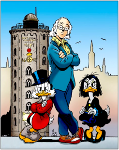 Don Rosa - Marco Rota Illustration