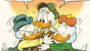 Scrooge, Jake and Fergus McDuck