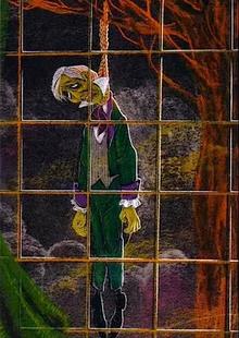 X. Atencio Hanging Ghost Host
