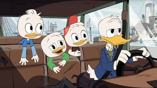 Driving to McDuck Manor