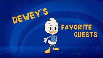 Dewey's Top Quests ⚔️ DuckTales Disney Channel