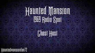 Ghost Host - Haunted Mansion Radio Spot 1969
