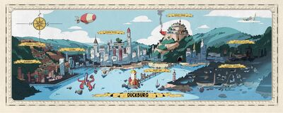 Duckburg Map Big