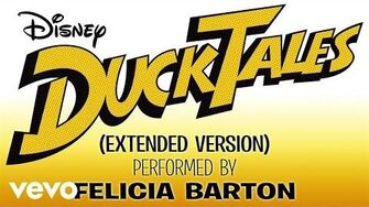 "Felicia Barton - DuckTales (From ""DuckTales"" Extended Version Audio Only)"