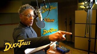 The Phantom Blot Behind the Scenes DuckTales Disney Channel