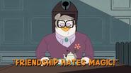 Friendship Hates Magic!
