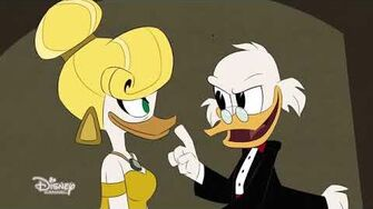 DuckTales - The Golden Lagoon of White Agony Plains! EXCLUSIVE CLIP