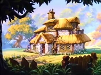 Cottage McDuck Then