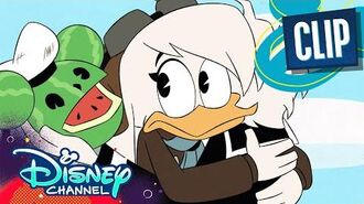 Della and Donald Duck Reunite DuckTales Disney Channel