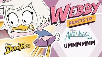 Webby Reacts To Ummm DuckTales Disney Channel
