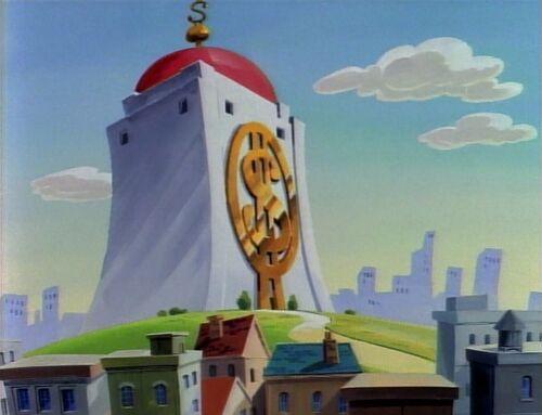 The Money Bin on DuckTales