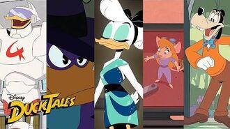 The Best DuckTales Crossovers! Compilation DuckTales Disney XD