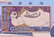 Glom Energy Drink Billboard