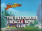The Billionaire Beagle Boys Club