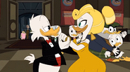 The Golden Lagoon of White Agony Plains Glomgold party 6