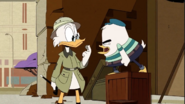 Scrooge and young Duke