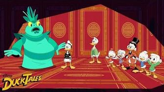 Lucky Unlucky Ducks DuckTales Disney XD-0