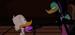 Magicas revenge on Scrooge