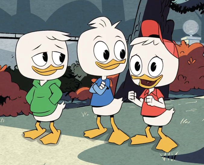 huey dewey and louie duck 2017 ducktales wiki fandom powered