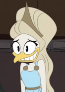 Selene awkward face
