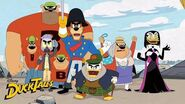 Glomgold's Army vs the McDuck Family DuckTales Disney XD