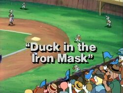 Duck in the Iron MaskTitleCard