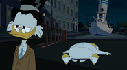 The 87 Cent Solution defeated Glomgold