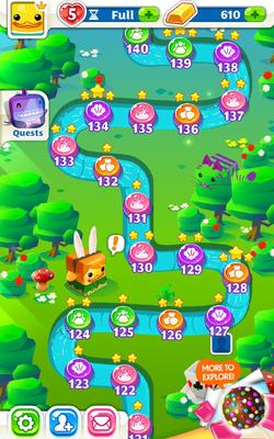 Wonder Gardens Map