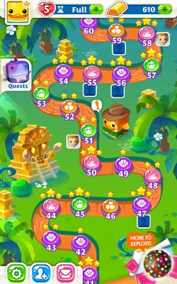 Jammin' Jungle Map
