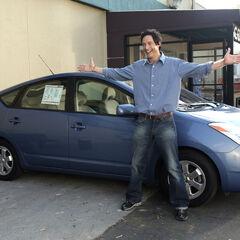 Dan wartet auf J.D. mit einem neuen Auto...