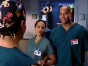 3x4 Turk Carla in green scrubs