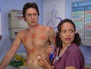 5x4-Carla nurses J.D.'s injuries