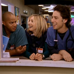 Turk is mocked by Elliot and J.D.