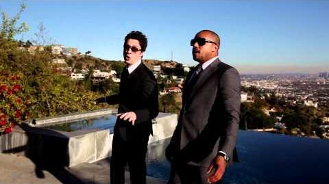 """Baby Its Cold Outside"" performed by Zach Braff & Donald Faison"