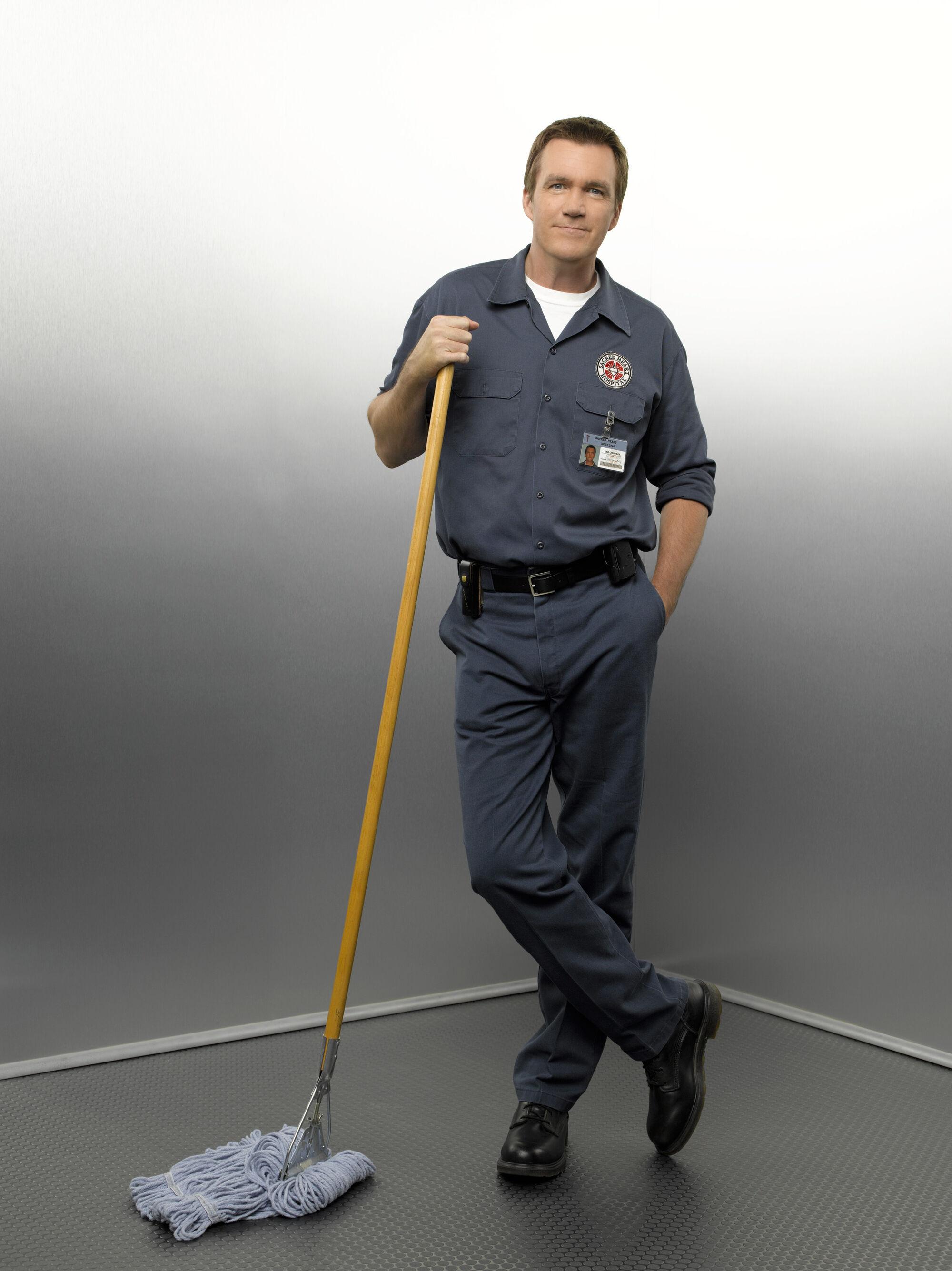 Scrubs Hausmeister